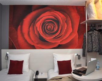 Hotel Inn Design Dieppe - Saint-Aubin-sur-Scie - Schlafzimmer
