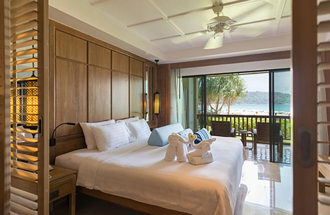 Katathani Phuket Beach Resort - Karon - Schlafzimmer