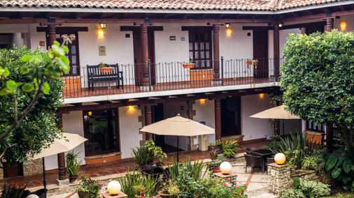 Hotel Parador Margarita - San Cristóbal de las Casas - Βεράντα