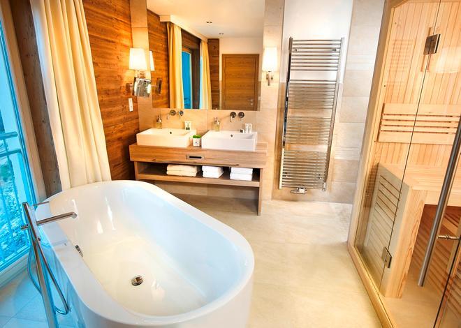 Selfness & Genuss Hotel Ritzlerhof - Oetz - Bathroom