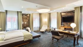 St Gotthard Hotel - Цюрих - Спальня