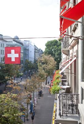 Hotel St. Gotthard - Zürich - Parveke
