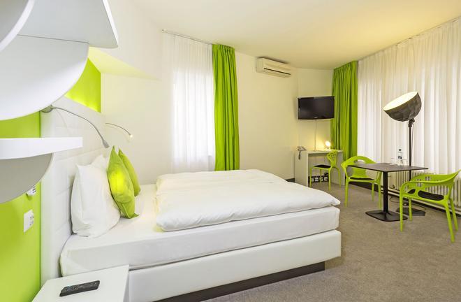 Hotel City Inn - Basel - Bedroom