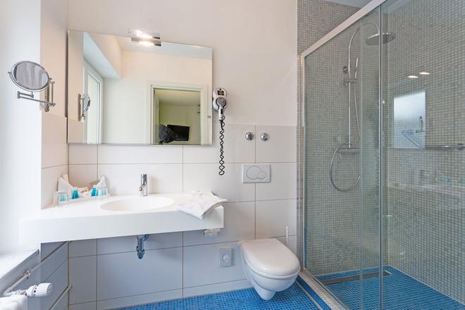 Hotel City Inn - Basel - Bathroom
