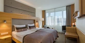 Hotel Continental - Losanna - Camera da letto