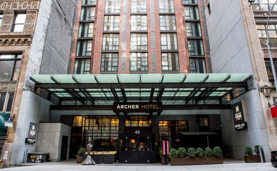 Hotels In New York City >> Archer Hotel New York 192 4 3 2 New York Hotel Deals