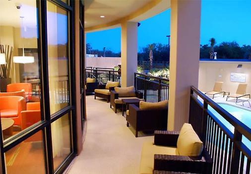 Courtyard By Marriott Houston Medical Center/Nrg Park - Houston - Parveke