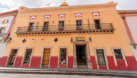 卡薩總督酒店 - 瓜納華多 - 瓜納華托 - 建築