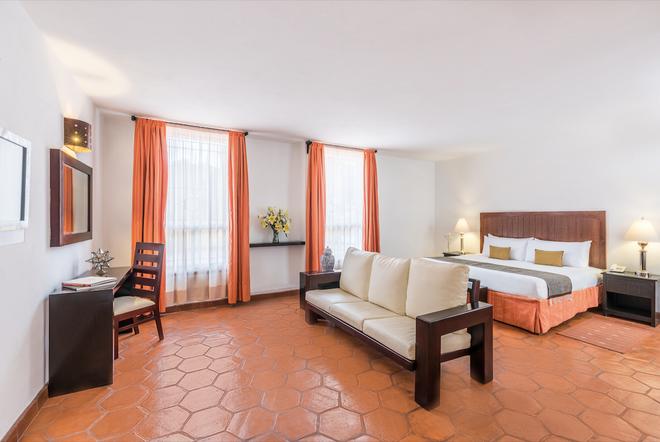卡薩總督酒店 - 瓜納華多 - 瓜納華托 - 臥室