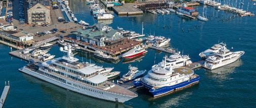 Boston Yacht Haven Inn & Marina - Boston - Cảnh ngoài trời