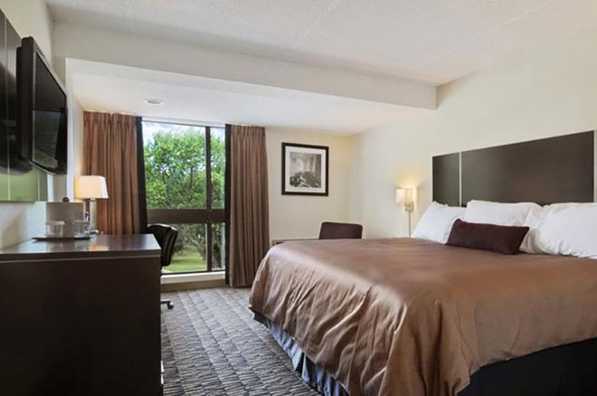 華美達廣場尼亞加拉大瀑布酒店 - 尼加拉瀑布 - 尼亞加拉瀑布 - 臥室