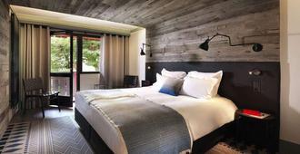 Chalet Hôtel Le Prieuré - שאמוני מון-בלאן - חדר שינה