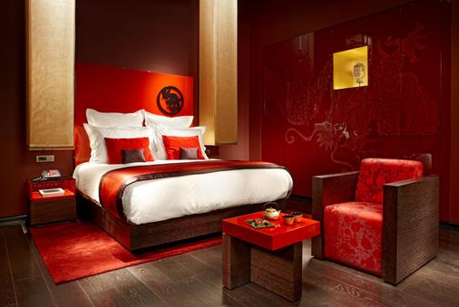 Buddha-Bar Hotel Budapest Klotild Palace - Budapest - Makuuhuone