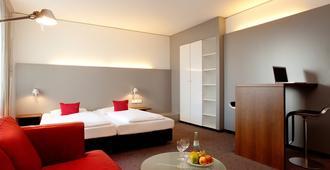 アルコナ モー ホテル - シュトゥットガルト - 寝室
