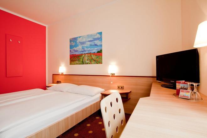 Hotel die kleine Sonne Rostock - Rostock - Makuuhuone