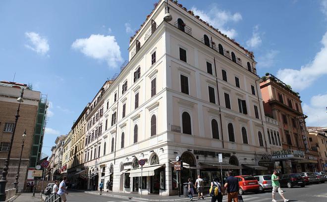 โรงแรมอิมพีโร โรม - โรม - อาคาร