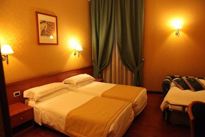 โรงแรมอิมพีโร โรม - โรม - ห้องนอน
