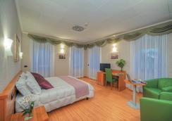 Ele Green Park Hotel Pamphili - Rome - Bedroom