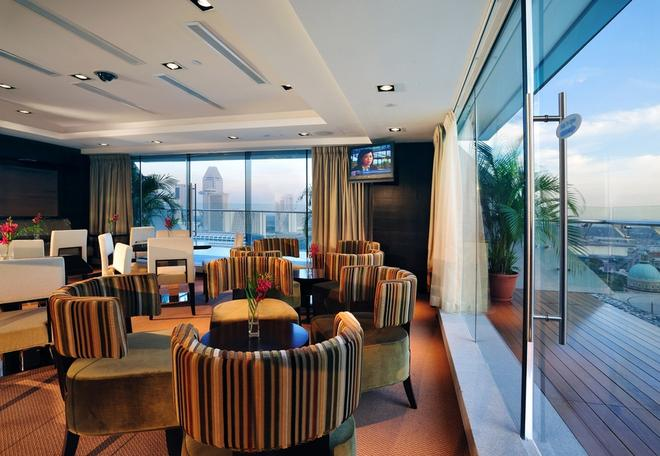 Peninsula Excelsior Hotel - Singapur - Sala de estar