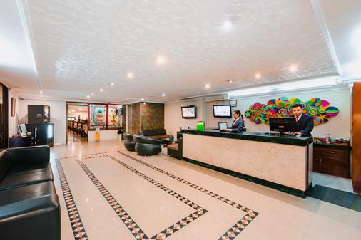Hotel El Virrey Centro - Bogotá - Front desk