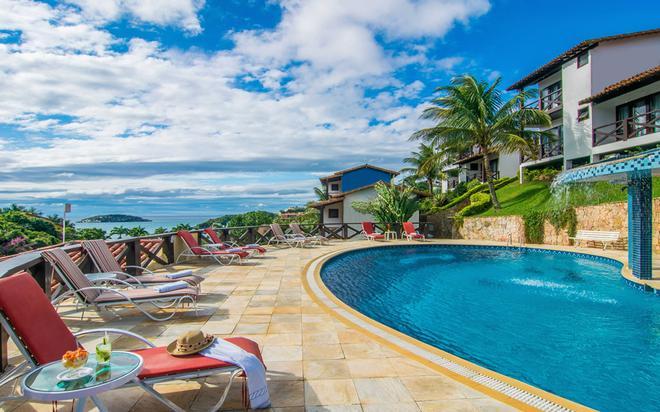Hotel Ilha Branca Inn - Búzios - Πισίνα