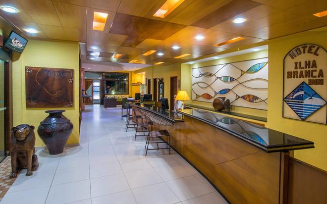 Hotel Ilha Branca Inn - Búzios - Σαλόνι ξενοδοχείου