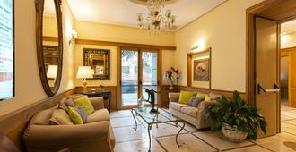 جراند هوتل يوروبا - نابليس - غرفة معيشة