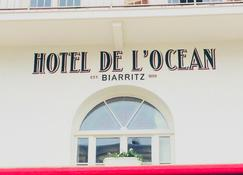 Hôtel de L'Océan - Biarritz - Κτίριο