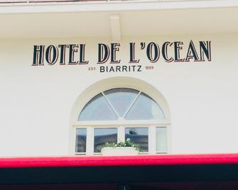 Hôtel de L'Océan - Biarritz - Building