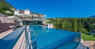 多洛米蒂阿爾比恩山溫泉度假酒店 - 奧蒂塞伊 - 游泳池