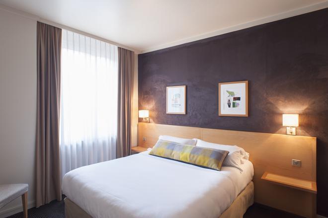 德斯藝術酒店 - 里昂 - 里昂 - 臥室
