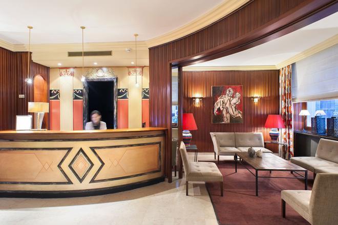 德斯藝術酒店 - 里昂 - 里昂 - 櫃檯