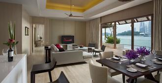 聖淘沙名勝世界- 海濱別墅 - 新加坡 - 客廳