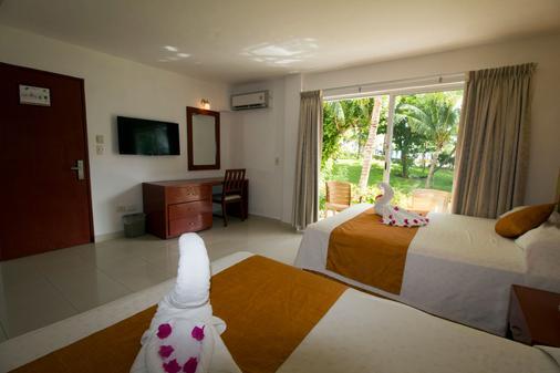 法蘭達酒店多斯普拉亞斯海灘別墅酒店 - 坎昆 - 坎昆 - 臥室