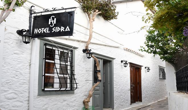 Sidra Hotel - Hydra - Rakennus