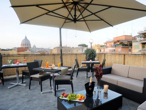 Hotel Gravina San Pietro - Rom - Balkon
