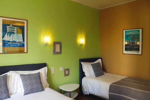 博伊斯酒店 - 拉波勒 - 臥室