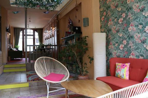 博伊斯酒店 - 拉波勒 - 客廳