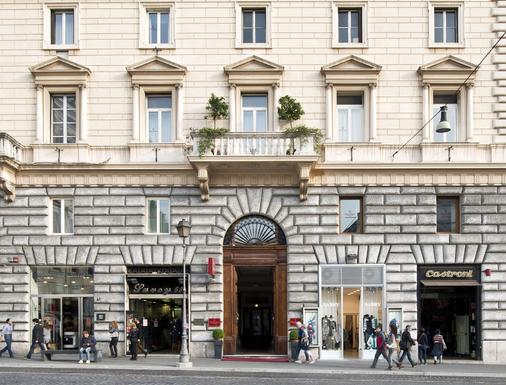 Hotel Giolli Nazionale - Rome - Building