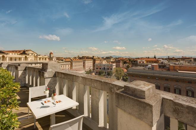 格蘭皇宫酒店 - 羅馬 - 羅馬 - 陽台