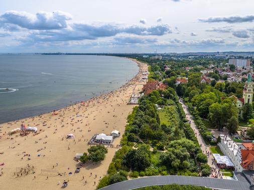 Hotel Sedan - Sopot - Beach