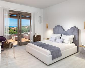 Geco DI Giada Exclusive Art Suites - Marina di portisco - Slaapkamer