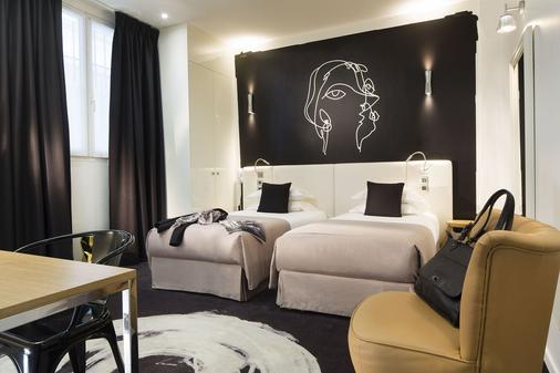 Hotel Montparnasse St Germain - Paris - Bedroom