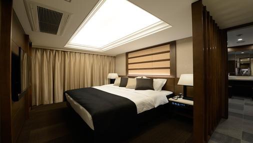Hotel Leon Meguro - Tokio - Makuuhuone