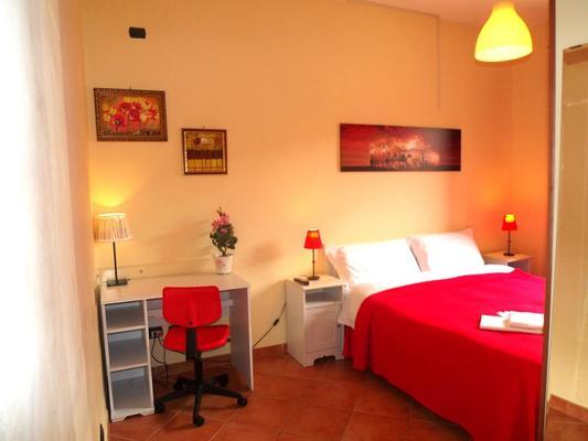 Villa Lanusei - Rooma - Makuuhuone