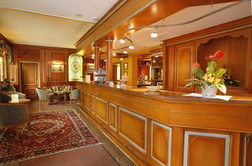 Hôtel Turenne - Colmar - Front desk