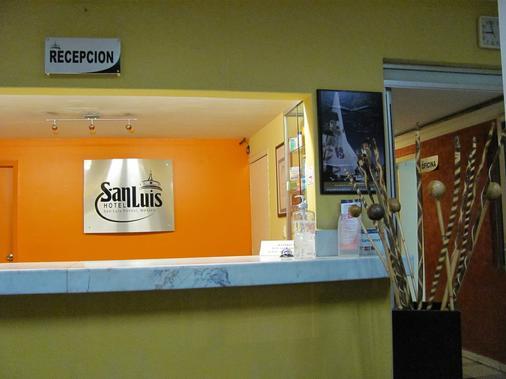 Hotel San Luis - San Luis Potosí - Lễ tân