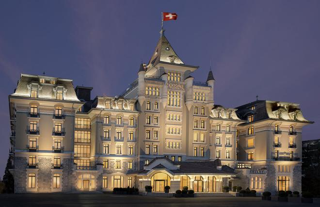 Royal Savoy Lausanne - Lausanne - Rakennus