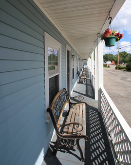 Brookside Motel - Saco - Balkon