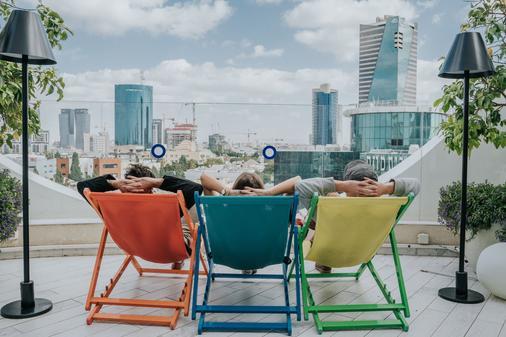 65 Hotel, Rothschild Tel Aviv - an Atlas Boutique Hotel - Τελ Αβίβ - Μπαλκόνι